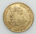 Colombia, Colombia: Charles IV gold 8 Escudos 1794 NR-JJ VF - Scratches,...