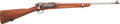 Long Guns:Bolt Action, U.S. Springfield Model 1898 Krag Bolt Action Rifle in CarbineConfiguration....