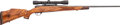 Long Guns:Bolt Action, Weatherby Mark V Left Handed Bolt Action Rifle with Telescopic Sight....