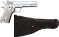 Handguns:Semiautomatic Pistol, Colt Model 1911 Argentine Contract Mod. 1927 Semi-Automatic Pistolwith Leather Holster....