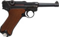 Handguns:Semiautomatic Pistol, German 42 Code Luger Dated 1940 Semi-Automatic Pistol....