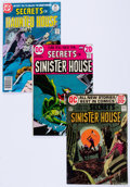 Bronze Age (1970-1979):Horror, Secrets of Sinister House/Secrets of haunted House Group of 40 (DC,1970s) Condition: Average VG/FN.... (Total: 40 Items)