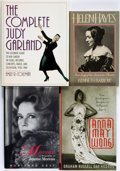 Books:Biography & Memoir, [Film Actresses]. Group of Four Biographies. Various publishers and dates.... (Total: 4 Items)