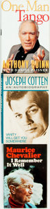 Books:Biography & Memoir, [Biography]. Group of Three Titles. Various publishers and dates.... (Total: 3 Items)
