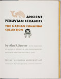 Books:Art & Architecture, Alan R. Sawyer. SIGNED/LIMITED. Ancient Peruvian Ceramics: The Nathan Cummings Collection. Greenwich: The Metrop...