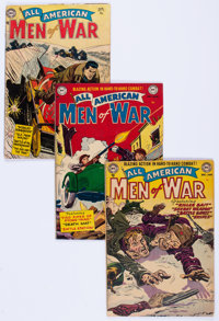 All-American Men of War Group of 19 (DC, 1952-66) Condition: Average GD.... (Total: 19 Comic Books)