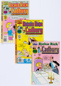 Bronze Age (1970-1979):Cartoon Character, Richie Rich and Cadbury/Richie Rich and Casper File Copy Short BoxGroup (Harvey, 1970s-80s) Condition: Average NM-....