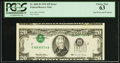 Error Notes:Inverted Third Printings, Fr. 2081-B $20 1995 Federal Reserve Note. PCGS Choice New 63.. ...