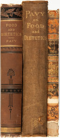 Books:Food & Wine, [Medicine]. [Food]. Group of Three Books. Various publishers anddates.... (Total: 3 Items)