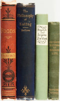 Books:Food & Wine, [Food]. [Medicine]. Group of Four Books. Various publishers anddates.... (Total: 4 Items)