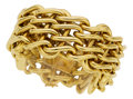 Estate Jewelry:Bracelets, Gold Bracelet, Leverington. ...