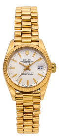 Estate Jewelry:Watches, Rolex Lady's Gold President Watch. ...