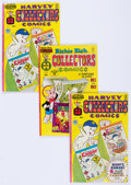 Bronze Age (1970-1979):Cartoon Character, Harvey Collectors Comics #2/Harvey Collectors Comics #14 File CopyLong Box Group (Harvey, 1975-77) Condition: Average VF/NM....