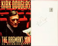Books:Biography & Memoir, Kirk Douglas. SIGNED. The Ragman's Son: An Autobiography.New York: Simon and Schuster, [1988]....