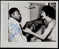 Miscellaneous Collectibles:General, Pele Signed Original Press Photograph....