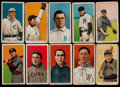 Baseball Cards:Lots, 1909-11 T206 White Borders Collection (10) - With Southern Leaguer& HoFer. ...