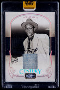 Baseball Cards:Singles (1970-Now), 2008 Donruss Celebrity Cuts Century Willie Mays Relic AutographCard #'d 45/50....