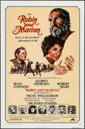 "Movie Posters:Adventure, Robin and Marian (Columbia, 1976). One Sheet (27"" X 41"") FlatFolded. Adventure.. ..."