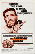 "Movie Posters:Adventure, The African Queen (Trans-Lux, R-1968). One Sheet (27"" X 41"").Adventure.. ..."