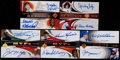 Baseball Cards:Lots, 2005 Ultimate Signature Edition Dual Autograph Collection (5)....