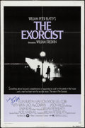 "Movie Posters:Horror, The Exorcist (Warner Brothers, 1974). Autographed One Sheet (27"" X 41""). Horror.. ..."