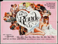 "Movie Posters:Sexploitation, Circle of Love (BLC, 1965). British Quad (30"" X 40"").Sexploitation. British Release Title: La Ronde.. ..."