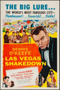 "Movie Posters:Drama, Las Vegas Shakedown & Other Lot (Allied Artists, 1955). One Sheets (2) (27"" X 41""). Drama.. ... (Total: 2 Items)"