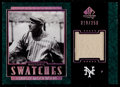 Baseball Cards:Singles (1970-Now), 2003 SP Legendary Cuts Historic Swatches Christy Mathewson J-CM. ...