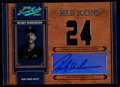 Baseball Cards:Singles (1970-Now), 2004 Playoff Prime Cuts Rickey Henderson MLB Icons Autograph JerseyCard, 1 of 1....