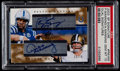 Football Cards:Singles (1970-Now), 2003 SP Signature Peyton Manning/Archie Manning Dual Signatures PSAGem Mint 10....