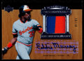 Baseball Cards:Singles (1970-Now), 2005 Upper Deck Hall of Fame Eddie Murray Essential EnshrinementAutograph Jersey Card 10/10....