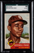 Baseball Cards:Singles (1950-1959), 1953 Topps Satchell Paige #220 SGC 80 EX/NM 6....