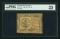 Colonial Notes:Continental Congress Issues, Continental Currency July 22, 1776 $5 PMG Very Fine 25.. ...