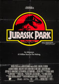 "Movie Posters:Science Fiction, Jurassic Park & Other Lot (Universal, 1993). International One Sheet (27"" X 39"") and One Sheet (27"" X 41""). Science Fiction.... (Total: 2 Items)"