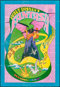 "Movie Posters:Animation, Fantasia (Buena Vista, R-1970). One Sheet (27"" X 41""). Animation.. ..."