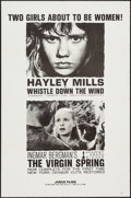 """Movie Posters:Foreign, The Virgin Spring/Whistle Down the Wind Combo & Others Lot (Janus Films, R-1961). One Sheets (4) (27"""" X 41""""). Foreign.. ... (Total: 4 Items)"""