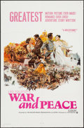 """Movie Posters:Foreign, War and Peace & Other Lot (Continental, 1968). First U.S. Release One Sheet & One Sheet (27"""" X 41""""). Foreign.. ... (Total: 2 Items)"""