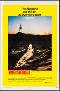"Movie Posters:Adventure, Walkabout (20th Century Fox, 1971). One Sheet (27"" X 41"").Adventure.. ..."