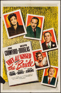 "Movie Posters:Comedy, They all Kissed the Bride & Other Lot (Columbia, R-1955). One Sheets (2) (27"" X 41""). Comedy.. ... (Total: 2 Items)"