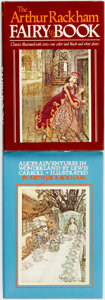 Books:Children's Books, [Arthur Rackham, illustrator]. The Arthur Rackham Fairy Book.Classics illustrated with sixty-one color & black-and-whit...(Total: 2 Items)