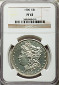 Proof Morgan Dollars, 1900 $1 PR62 NGC....