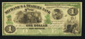 Obsoletes By State:Louisiana, New Orleans, LA-Mechanics & Traders Bank Certificate of Deposit $1 Dec. 26, 1873 Remainder. ...