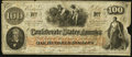 Confederate Notes:1862 Issues, T41 $100 1862 PF-12 Cr 317A.. ...