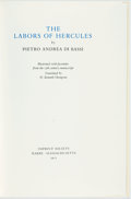 Books:Fine Press & Book Arts, [Imprint Society]. Pietro Andrea Di Bassi. [W. Kenneth Thompson,translator]. LIMITED. The Labors of Hercules... Ill...