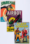 Golden Age (1938-1955):Miscellaneous, Golden Age Miscellaneous Comics Group (Various Publishers, 1940s-50s) Condition: Average VG.... (Total: 25 Comic Books)