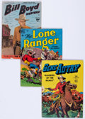 Golden Age (1938-1955):Western, Dell and Fawcett Golden Age Westerns Group of 54 (Dell, 1950s)Condition: Average VG-.... (Total: 54 Comic Books)