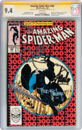 Modern Age (1980-Present):Superhero, The Amazing Spider-Man #300 Signature Series (Marvel, 1988) CGC NM9.4 White pages....