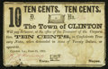 Obsoletes By State:Louisiana, Clinton, LA- Town of Clinton 10¢ June 21, 1862. ...