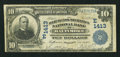 National Bank Notes:Maryland, Baltimore, MD - $10 1902 Date Back Fr. 621 The Merchants-MechanicsNB Ch. # (E)1413. ...