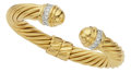 Estate Jewelry:Bracelets, Diamond, Gold Bracelet, David Yurman. ...